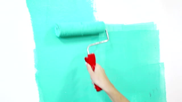 woman painting video