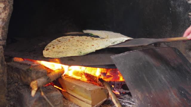 Woman preparing traditional food, gozleme, Safranbolu, Turkey woman preparing traditional food, gozleme, safranbolu, turkey pastry dough stock videos & royalty-free footage