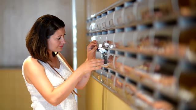 Woman Reading Correspondence video