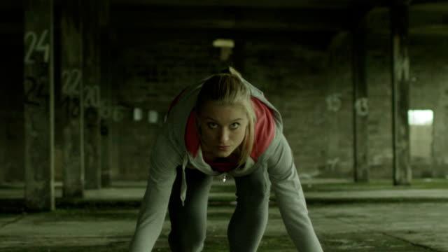 Woman runner