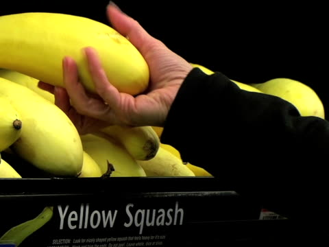 Woman Selecting Squash (Additional_Formats_Below) video