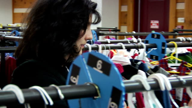 Woman Shopping video