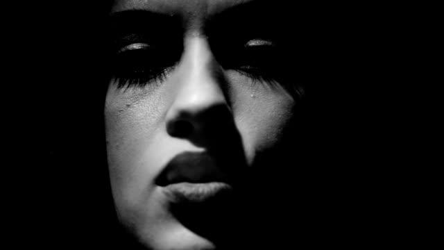 Woman Smoke Cigarette video