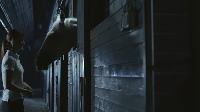 SLO MO DS kadın geceleri onun atı ile vakit video
