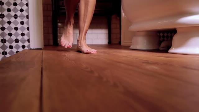 Woman taking a Bath video