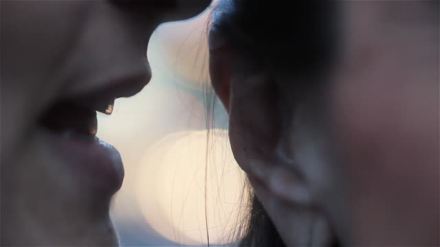 Woman Whispering Something.