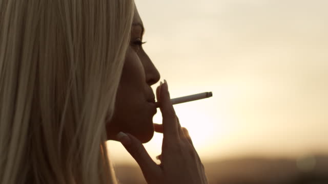 Woman with Cigarette video