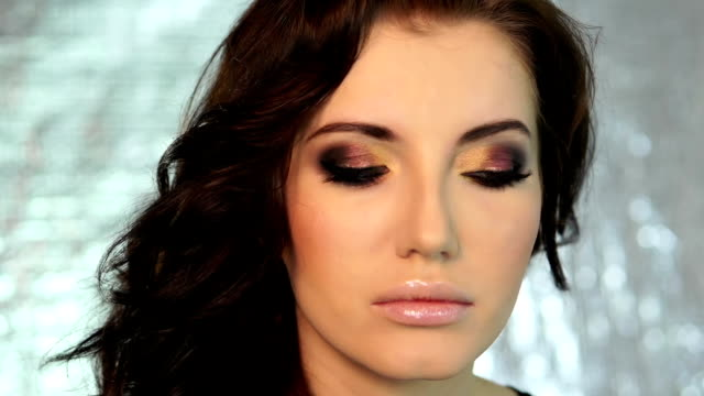 woman with Make-up video