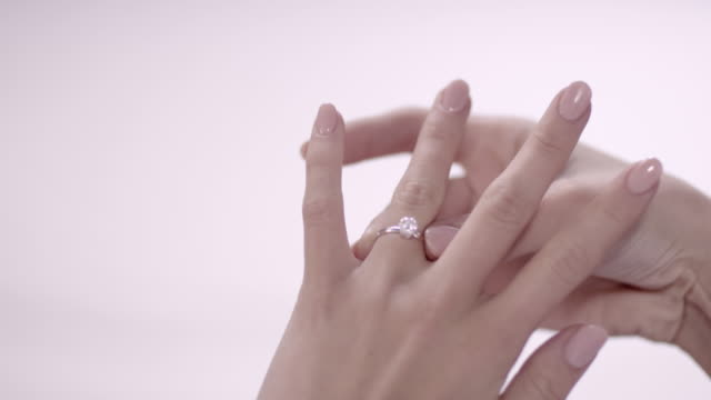 Woman with ring video
