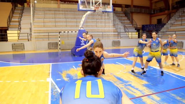 Women basketball jump shot video