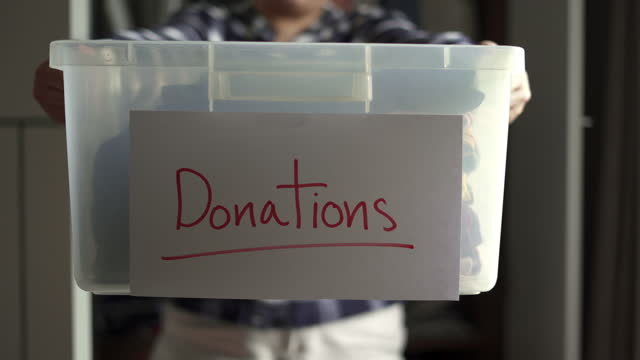 Women Collect used to donation box video