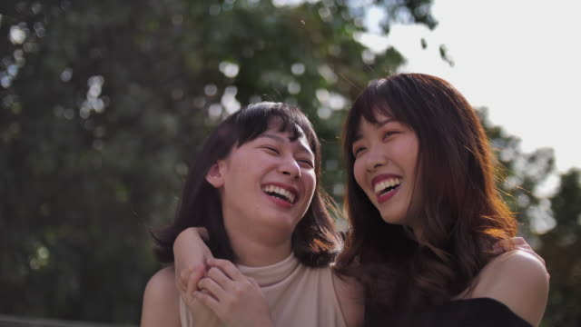 Women friends Laughing Friendship, Thailand,Smile,Beach, Friendship, Running, Women, Group Of Objects april stock videos & royalty-free footage