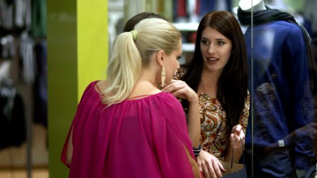 HD: Women Having Fun Shopping video