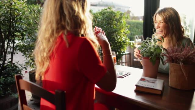 Frauen mit italienischem Aperitivo zusammen – Video