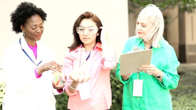 Women in STEM Science video