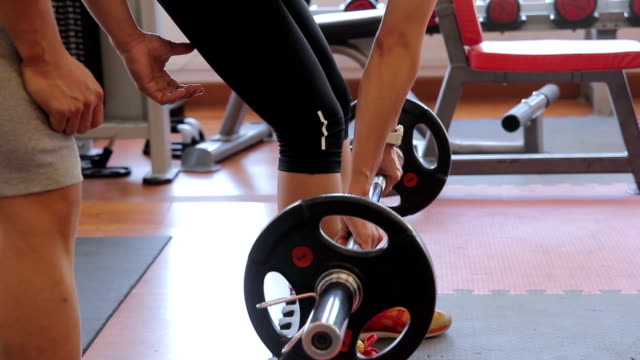 women is exercising with trainer - active lifestyle stock videos & royalty-free footage