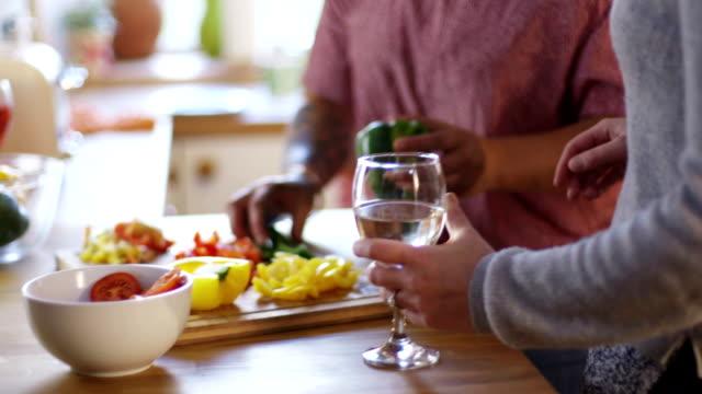Women Socialising in the Kitchen video