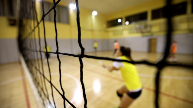 women volleyball training - volleyball stock videos and b-roll footage