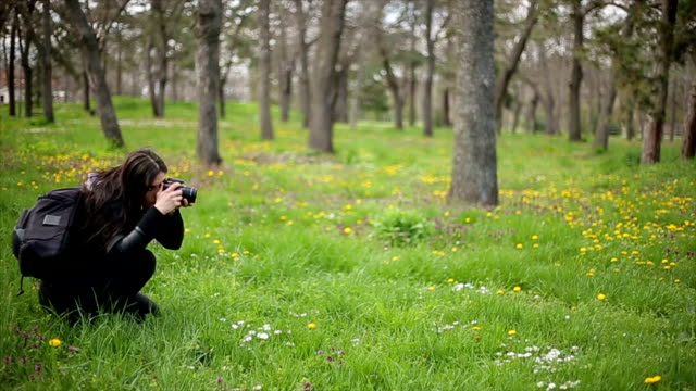 women with dslr camera video