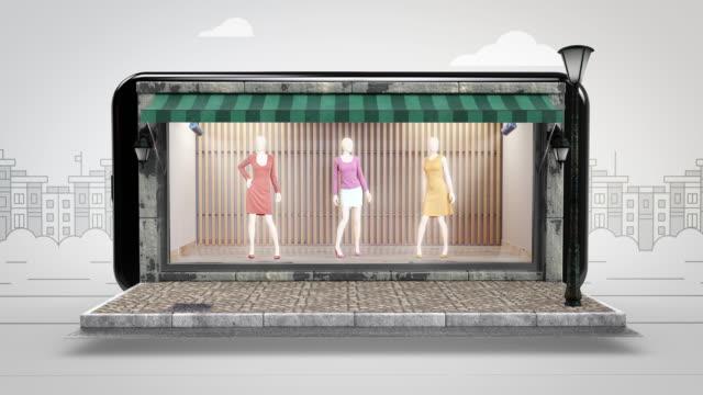 Women's Dress Online Shopping - Alpha Channel - 4K Resolution