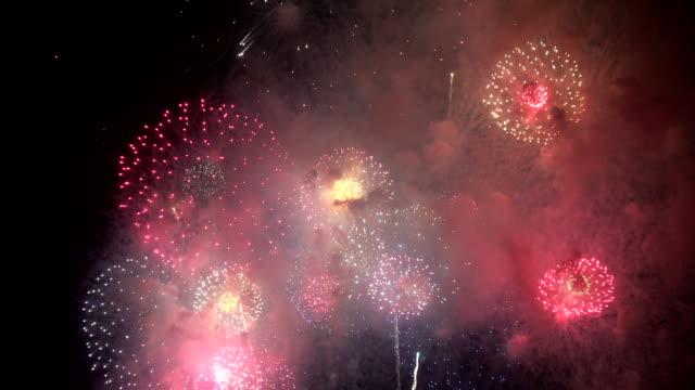 Wonderful firework for background Wonderful firework for background fireworks stock videos & royalty-free footage