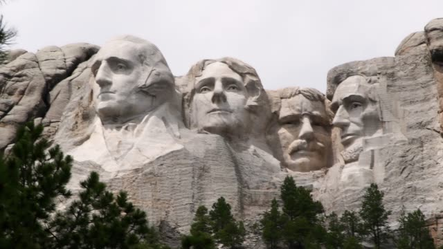 Wonderful  Video of view of Mount Rushmore National Memorial of United States of America in South Dakota. US historical presidents: Washington, Jefferson, Roosevelt, Lincoln Wonderful  Video of view of Mount Rushmore National Memorial of United States of America in South Dakota. US historical presidents: Washington, Jefferson, Roosevelt, Lincoln. famous place stock videos & royalty-free footage