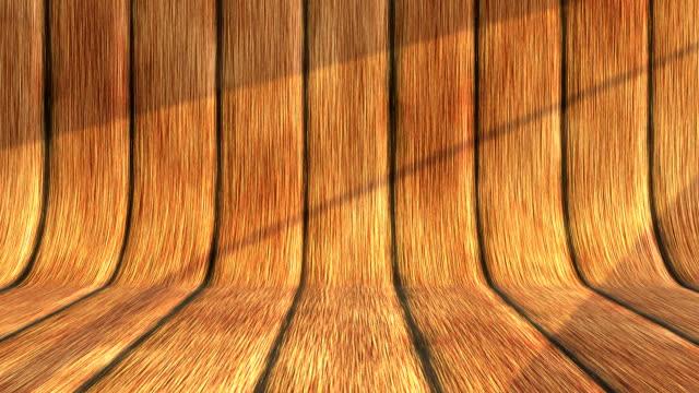 햇빛 나무 배경 - wood texture 스톡 비디오 및 b-롤 화면