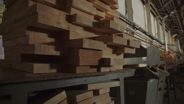 Wood Factory general plan: the production of laminated veneer lumber video