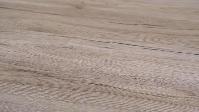 vidéos et rushes de parquet de plancher en bois - plein cadre