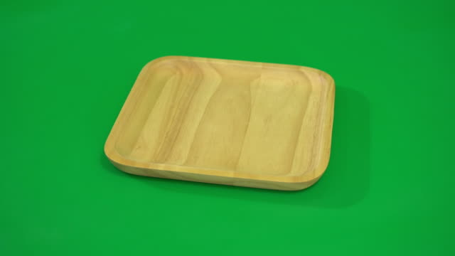 wood plate video