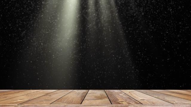 trä hylla bord med ljusa scenbelysningen blinkande - solar panel bildbanksvideor och videomaterial från bakom kulisserna
