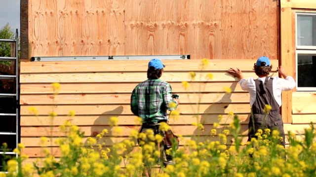 Wood Siding for the House video