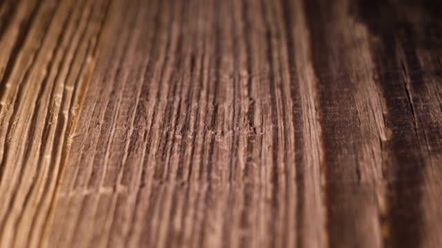 vidéos et rushes de fond en bois (tir de dolly) - bois texture