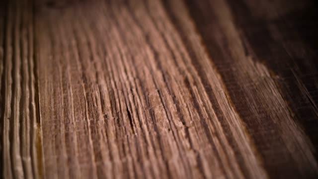 wooden background (dolly shot) - drewno tworzywo filmów i materiałów b-roll