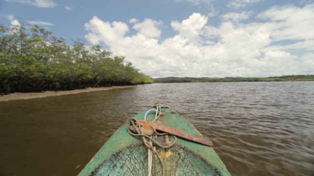 Wooden Boat Trip in Panama