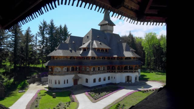 wooden church in Maramures, Romania