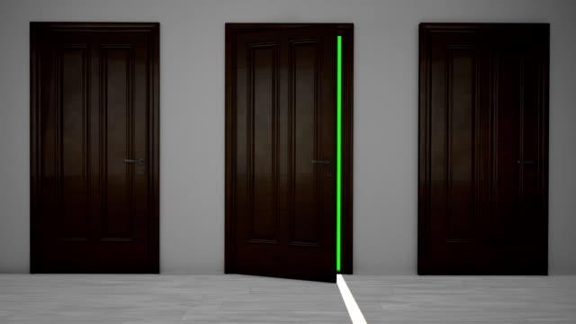 Wooden doors video