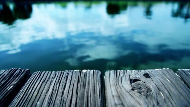 Wooden pier video