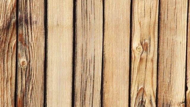 木製のテクスチャ背景、カメラの移動 - 木目点の映像素材/bロール