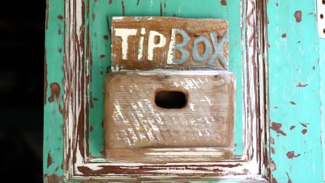 wooden tip box video