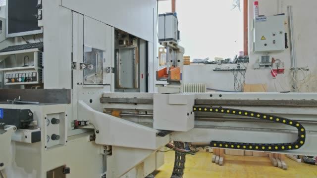 cnc 木工機械 - スロベニア点の映像素材/bロール