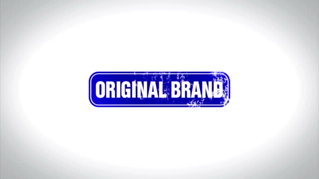 ORIGINAL BRAND Word 3D Animated Wooden Stamp Animation video