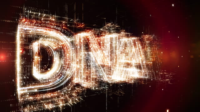 DNA word animation video