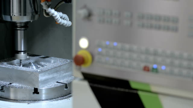 Work five-axis milling machine video