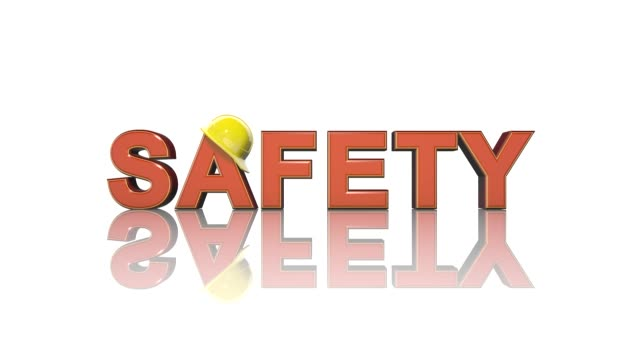 Work safety title health and safety (WHS (HSE) (OSH) welfare in the workplace