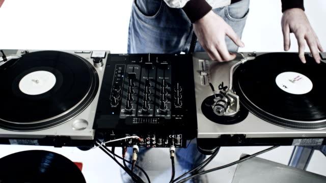 DJ working area video