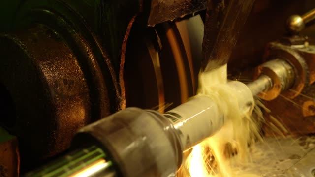 生産工場での作業機器ビデオ ビデオ