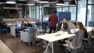 istock Working in modern Latin company 1200633856
