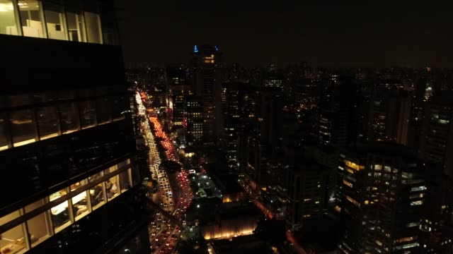 Working Late at Night Global Business são paulo state stock videos & royalty-free footage