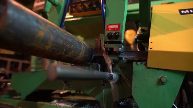 生産工場での作業機ビデオ ビデオ